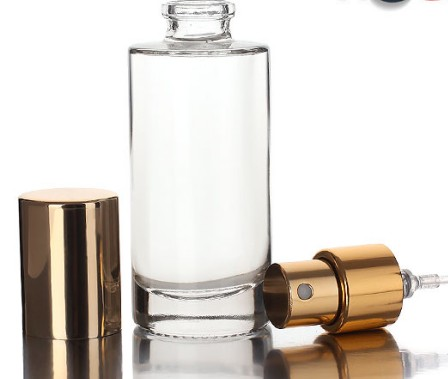 Small size 10ml spray pump perfume bottle sprayer with crimping pump sprayer  wholesale