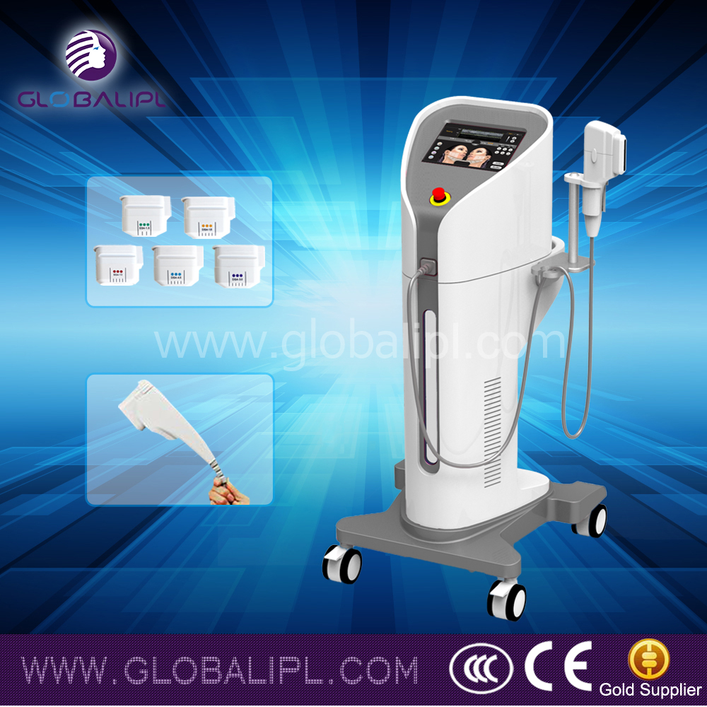 wrinkle removal skin tightening hifu US310 beauty machine 10000 shots long life
