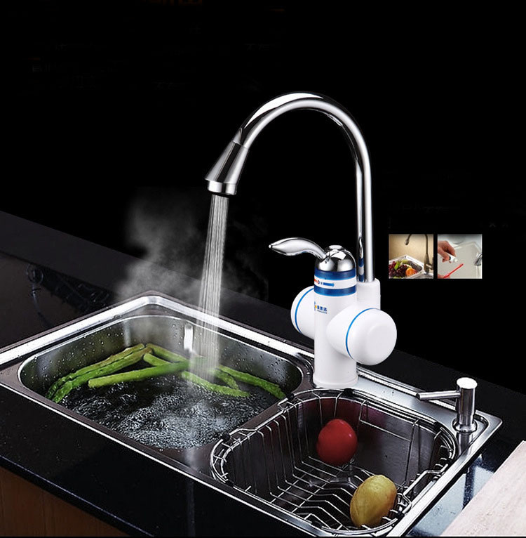 Warm Water From Cold Kitchen Faucet