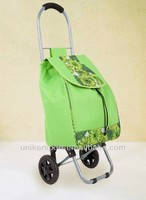 SHOPPING CART Wheels BAGS LUGGAGE/Cotton bag resuable bag