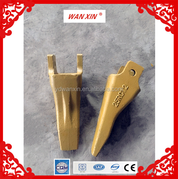 bucket teeth excavator parts construction machinery spare parts 25RC12
