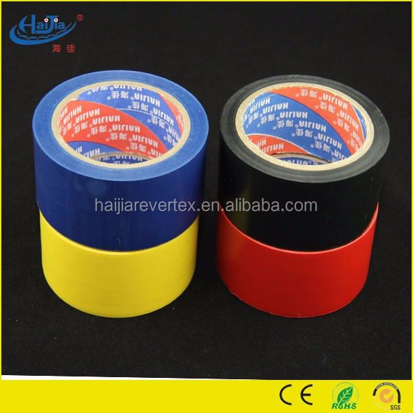 full sizes full color platic pvc pipe wrapping tape