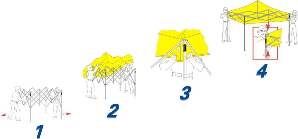 10ft*10ft aluminum frame Folded instant Gazebo tent E Z up tent for sale  sc 1 st  Alibaba & 10ft*10ft Aluminum Frame Folded Instant Gazebo Tent E Z Up Tent ...