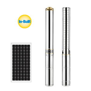 100 solar system 48v dc solar 1hp submersible solar pump for car wash 10 hp dc electric motor