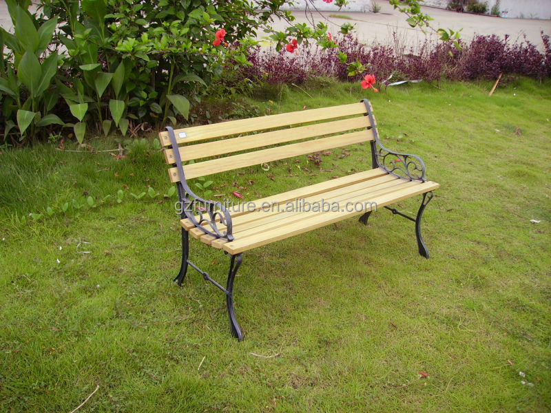 Outdoor Cast Iron Garden Bench Buy Wooden Slats With