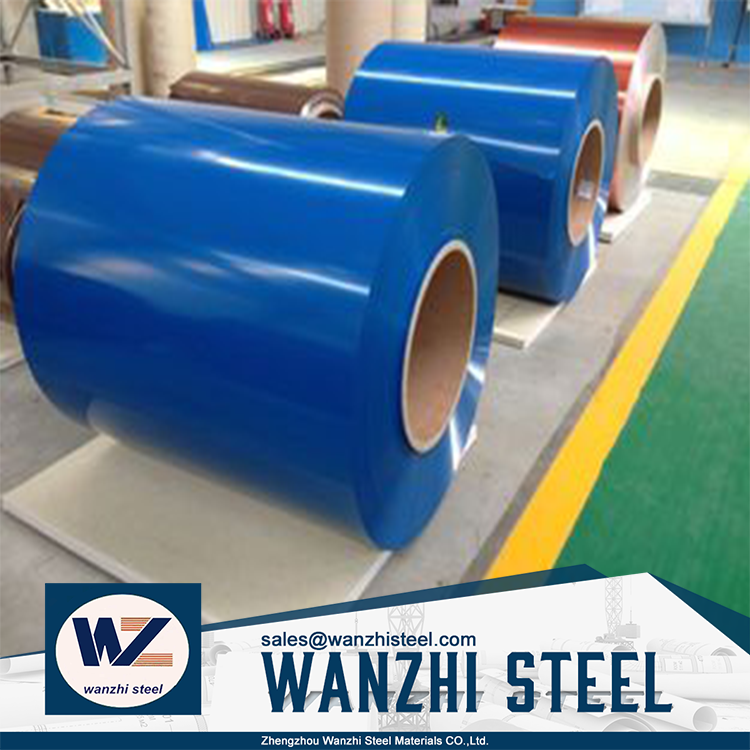 Cold rolled prepainted steel coil color coated steel coilused for roofing sheet