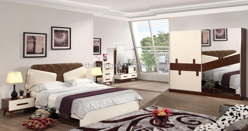 Moderne Holz Neue Modell Türkisch Home Schlafzimmer Möbel EDYO1