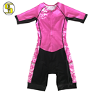 sublimation cycling clothing Mid sleeve women cycling jersey