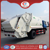 Good performance Euro III 12m3 garbage compactor truck
