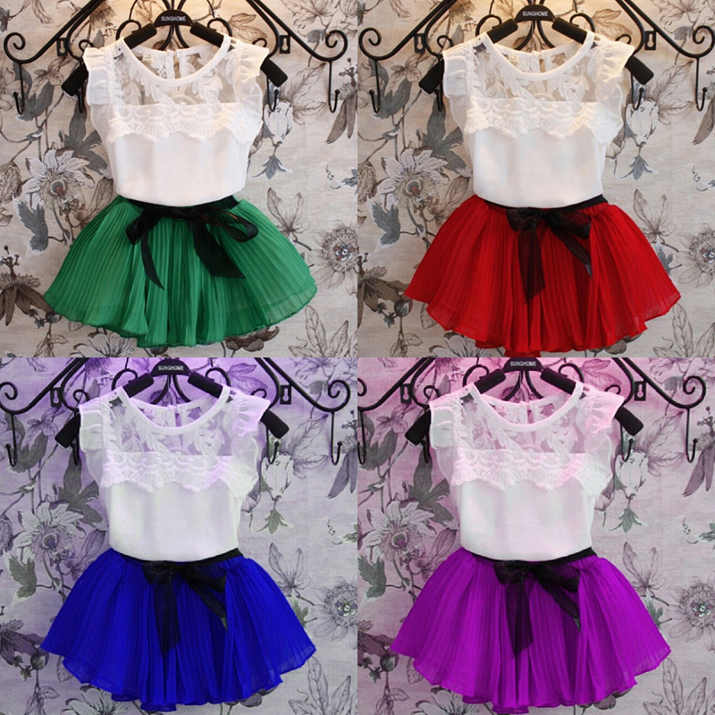140409cbf Buy flower Princess Dress for girl dance party prom baby girls ...