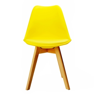 Hot Selling Factory Price Soft Pad Seat Plastic Dining Room Chair Modern for Restaurant/Kitchen