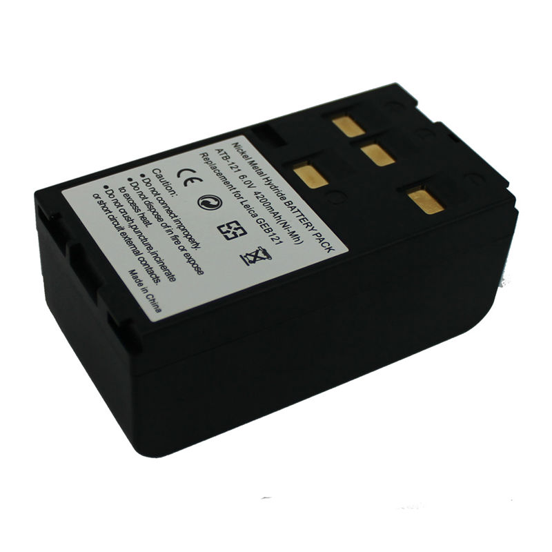 For Leica GEB121 Ni-Mh replacement instrument battery