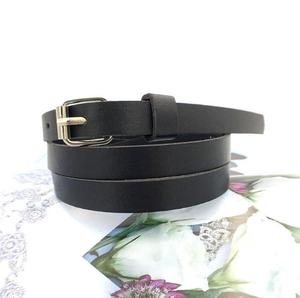 Wholesale candy colors adjustable waist skinny fashion girls belt