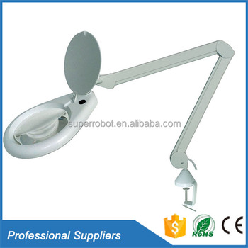Table Clamp 7 Inch Medical 20x 25x 30 X Magnifying Mirror