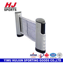 HJ-L016 HUIJUN Standard Size Plastic Outdoor Sports Foldable and Portable Table Tennis Post ping pong table post