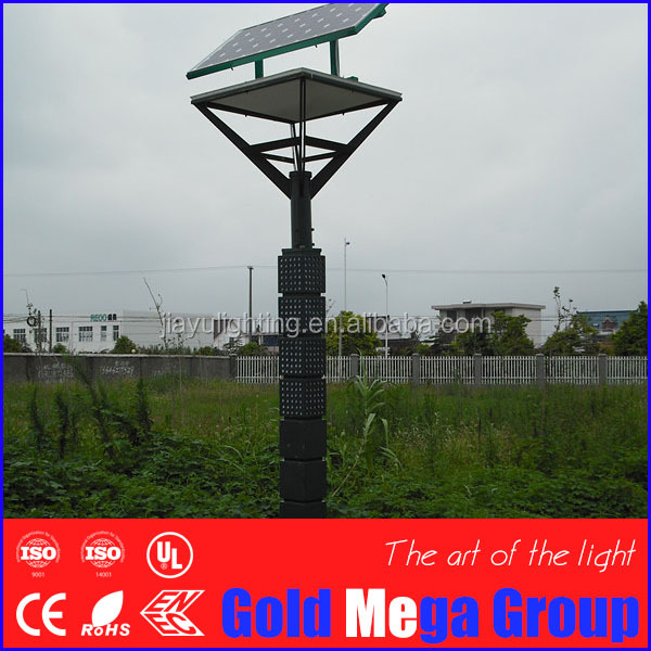 new products LED solar street lights 20w solar garden light for color temperature of 3000k-4000k warm white