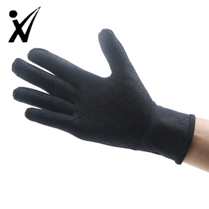 Cheap low price industrial glove grain leather glove winter work gloves