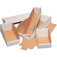 Corrugated Cardboard Open Top Bin Boxes