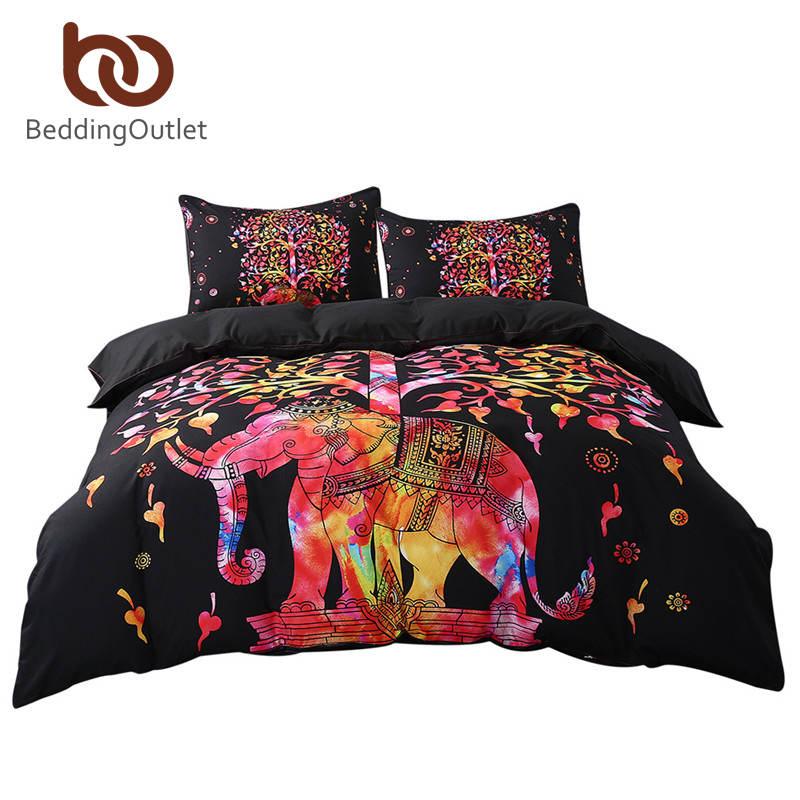 achetez en gros noir noir couette en ligne des grossistes noir noir couette chinois. Black Bedroom Furniture Sets. Home Design Ideas