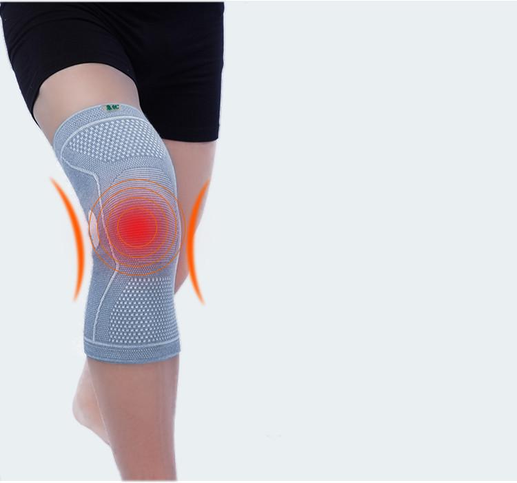 Atemschutzmaske 2019 Mode Elastische Sport Leg Knie Unterstützung Klammer Wrap Beschützer Knie Pad Hohe Qualityknee Unterstützung Klammer Bein Arthritis Verletzungen Gym Hülse