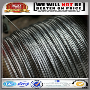 19*7 Non-Rotating 304 stainless steel wire rope