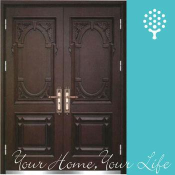 Exterior Steel Wooden Security Door Double Main Door Design Buy