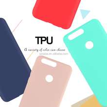 Jelly Soft Ultra Thin Dull Polish TPU Phone Cover Case for Huawei Honor Y6