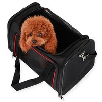 Airline approved soft-sided outdoor pet dog hutch carrier sling bag