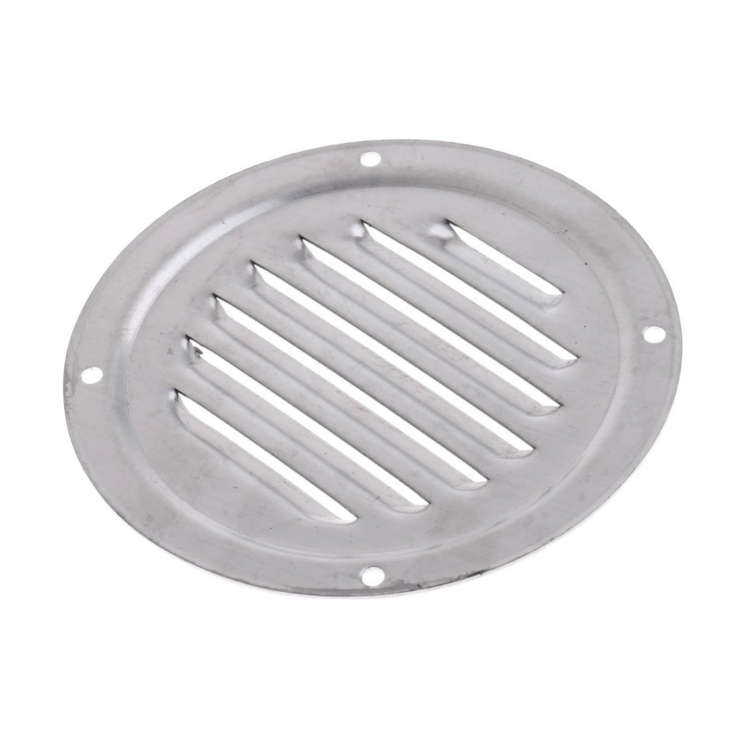 230x115mm Marine Stainless Steel Louvered Vent Louver Ventilation for Boat