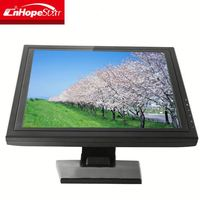 Newest design touch screen 5 wire 19 inch monitor