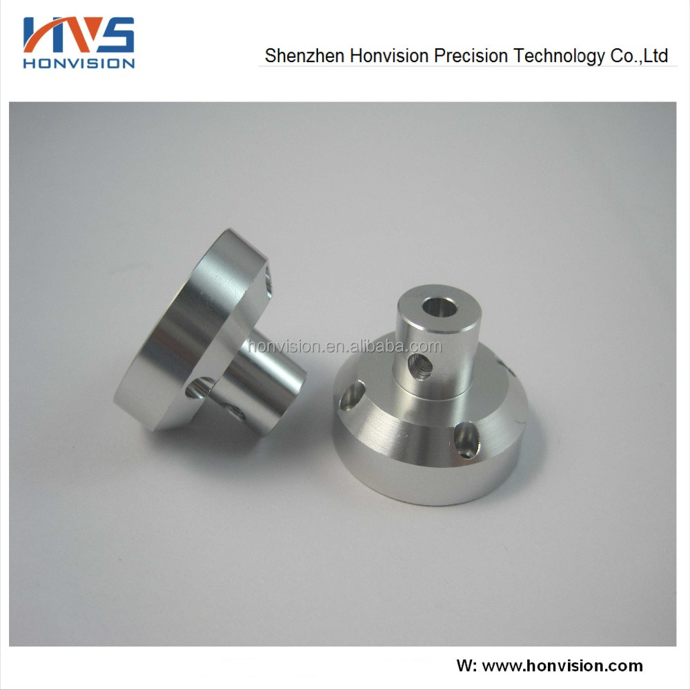 China fabrication Aluminium precision CNC machined bolts