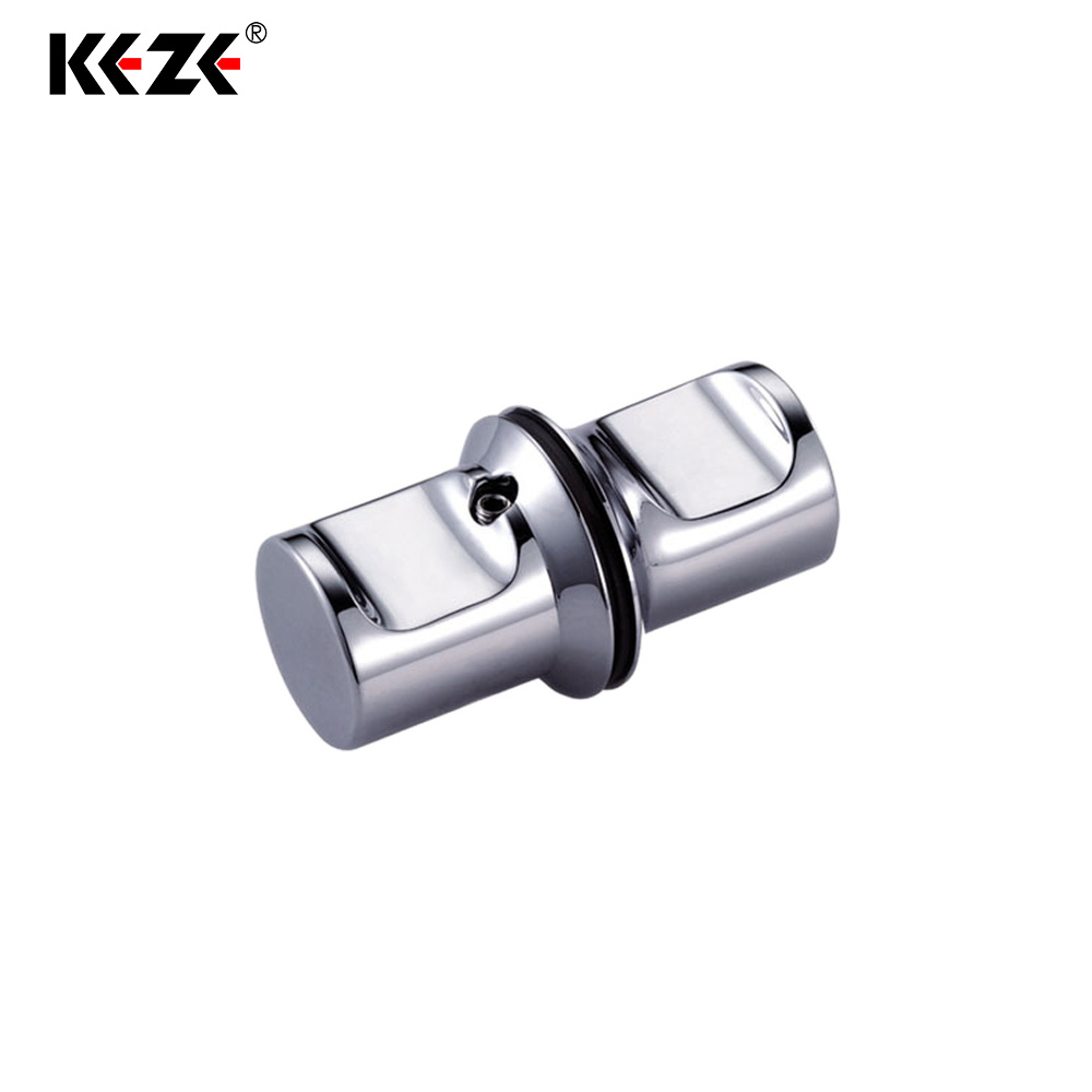 Alibaba China Supplier Bright Chrome 6-12MM Tempered Glass Door Handles