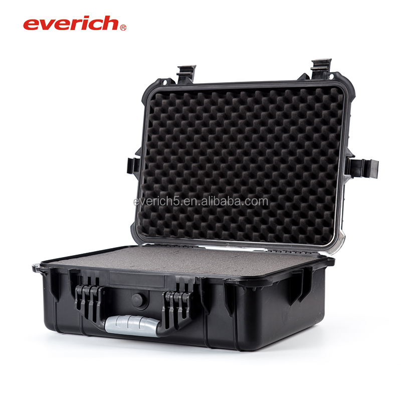 Hard plastic water proof PP IP67 EVA foam dry tool case Protective tool box