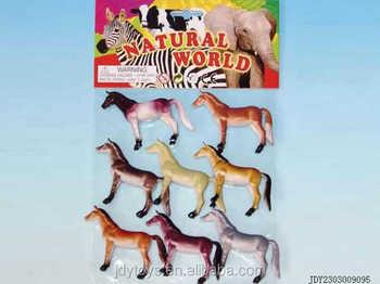 8 pcs en plastique mini cheval animal farm toy set pvc jouet des animaux de ferme ensemble buy. Black Bedroom Furniture Sets. Home Design Ideas
