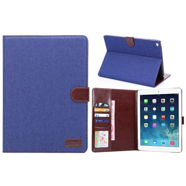 jean fabric case for ipad air 2, for ipad air 2 case with stand, case for ipad air 2 big sale