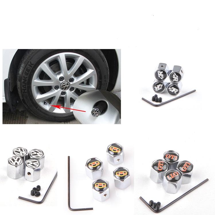 4 шт./компл. цветами череп рисунок металлические противоугонной стиль автомобиля колесо шина клапаны шины пыли для всех автомобилей