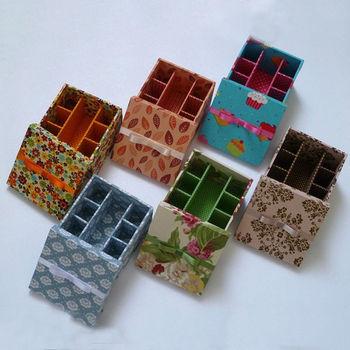 Custom Print Paper Nail Polish Storage Box Holder