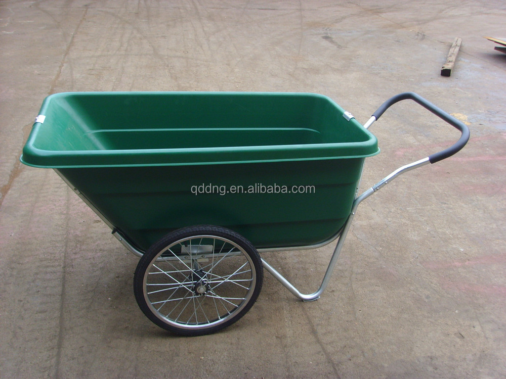 Beautiful Plastic Garden Cart With Two Wheels TC3089 Two Wheel Garden Cart