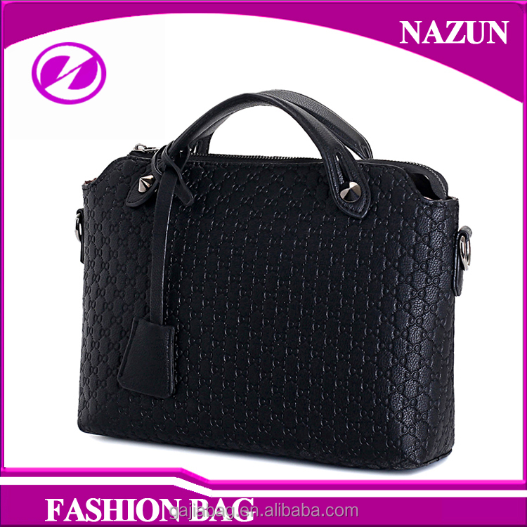 New Arrival Fashional Cross Body Embossed Tote Bag for Office Lady