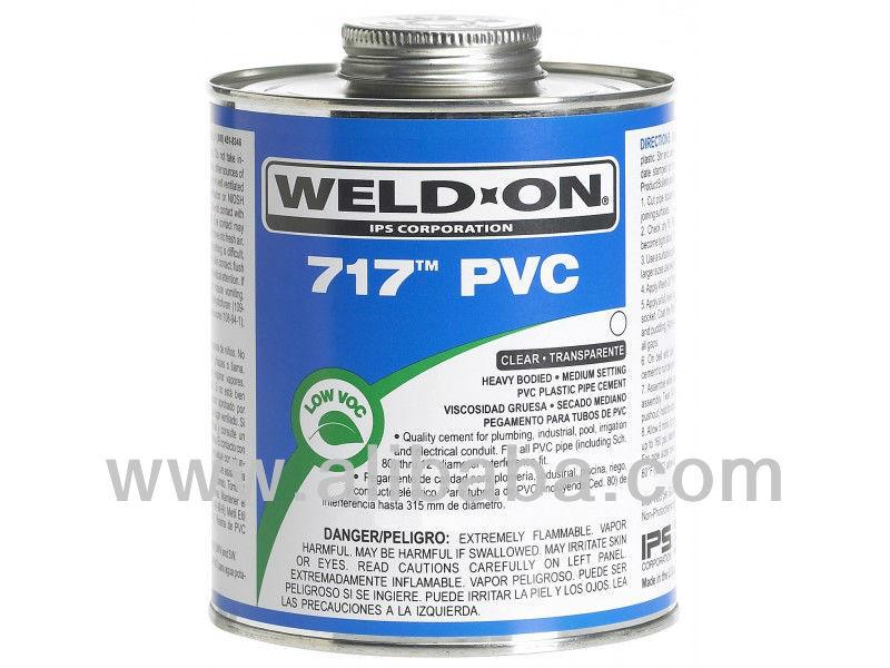 Pvc Solvent Cement : Weld on pvc cemento solvente adhesivos y sellado