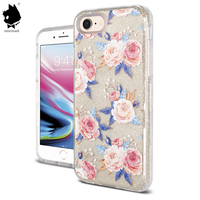low price custom printed beautiful clear mobile phone back cover,hot sale Design 360 protect case for iphone 6 7 8 X XS XR