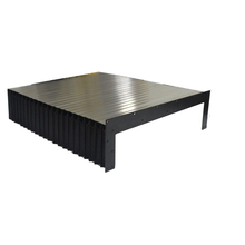 Accordeon balg cover rubber balg stofkap cnc lineaire geleiderail accordeon balg cover