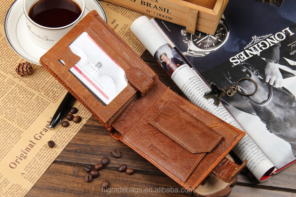 man genuine leather wallet