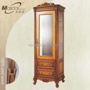 Cheap Solid Wood Display Cabinet Malaysia