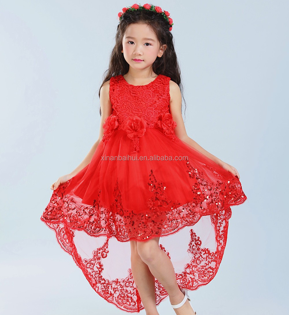 Rose girl wool princess long dress for 10years three pieces Winter clothes party derss with hat