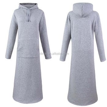 Women Plus Size Slim Fit Breathable Dresses Warm High Quality Fleece