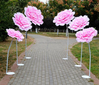 New Arrival Design Giant Artificial Flower Festival Christmas Decoration