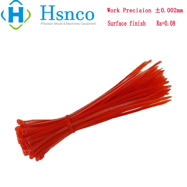 Cable Tie Zip Tie Wire Tie Plastic Injection Mould Custom Plastic Tooling