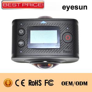 WIFI 360 Degree Panoramic Action Camera Dual Lens 1080P Ski Sports Camera
