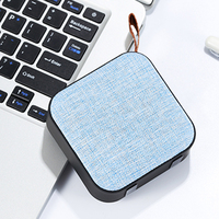 2018 Hot Promotion trading products waterproof portable speaker fabric mini BT speaker